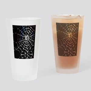 Spider Web Drinking Glass
