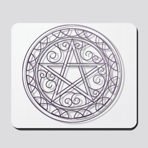 Purple Pentacle Mousepad
