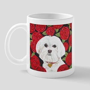 """Maltese Valentine"" Mug"