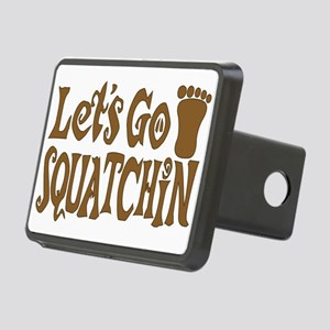 Let's Go Squatchin Rectangular Hitch Cover