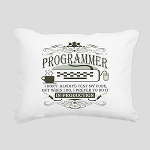programmer-darks Rectangular Canvas Pillow