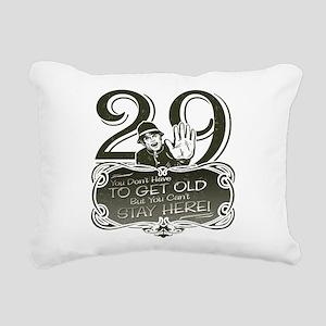 29-darks Rectangular Canvas Pillow