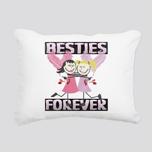 BESTIES-DARKS Rectangular Canvas Pillow