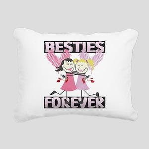 BESTIES-DARKS Rectangular Canvas Pillow