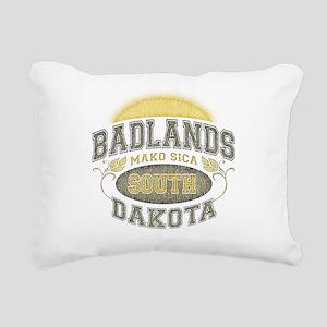 Badlands Rectangular Canvas Pillow
