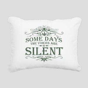 silent-darks Rectangular Canvas Pillow