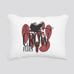 crow-darks Rectangular Canvas Pillow