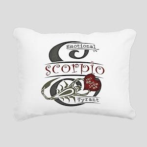 scorpio-heart-dark Rectangular Canvas Pillow