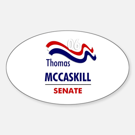 McCaskill 06 Oval Decal