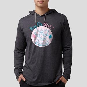 Boy or Girl Mens Hooded Shirt