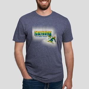 SKI Mens Tri-blend T-Shirt