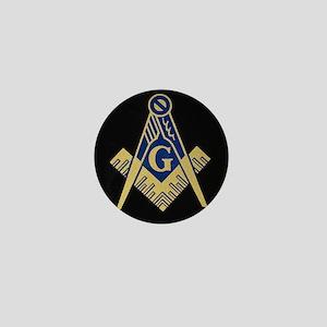 Simply Masonic Mini Button