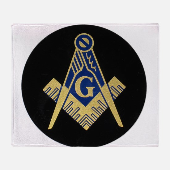 Simply Masonic Throw Blanket