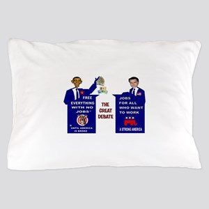 GREAT DEBATE Pillow Case