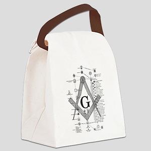 Masonic Bodies Canvas Lunch Bag