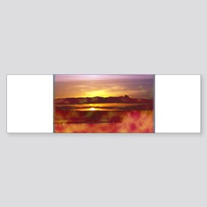California Sunset Sticker (Bumper)