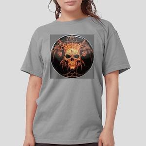 skull demon Womens Comfort Colors Shirt