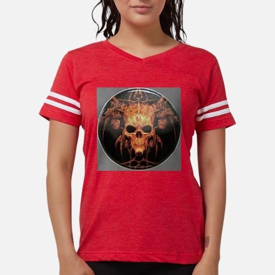 skull demon Womens Football Shirt