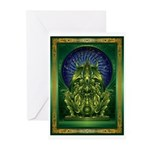 Cthulhu God Greeting Cards (Pk of 10)