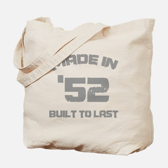 1952 Built To Last Tote Bag