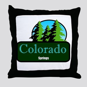 colorado springs t shirt truck stop novelty Throw
