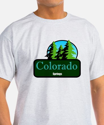 colorado springs t shirt truck stop novelty T-Shirt