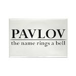 Pavlov Rings Bells Rectangle Magnet (10 pack)