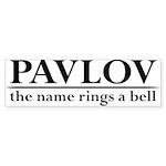 Pavlov Rings Bells Sticker (Bumper)