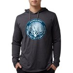 journeycircle_blue Mens Hooded Shirt