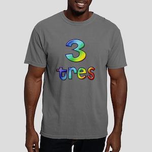 3 tres Mens Comfort Colors Shirt