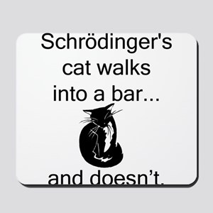 Schrödinger's Cat Mousepad