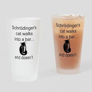 Schrödinger's Cat Drinking Glass