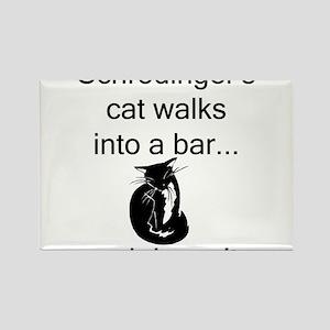 Schrödinger's Cat Rectangle Magnet