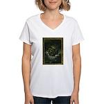 Cthulhu Rising Women's V-Neck T-Shirt