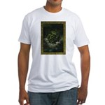 Cthulhu Rising Fitted T-Shirt