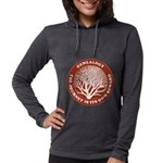 journeycircle_red.png Womens Hooded Shirt