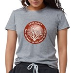 journeycircle_red Womens Tri-blend T-Shirt