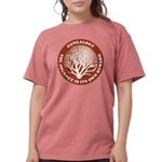journeycircle_red Womens Comfort Colors Shirt
