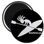 Kokopelli Kayaker Magnet