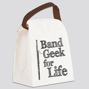 Bassoon Band Geek Canvas Lunch Bag