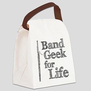 Bassoon Band Geek Canvas Lunch Bag