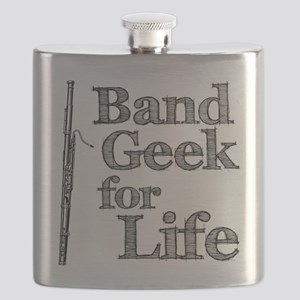 Bassoon Band Geek Flask