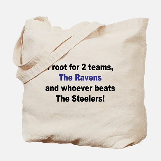 Ravens Football Tote Bag
