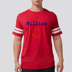 William Anchor Mens Football Shirt