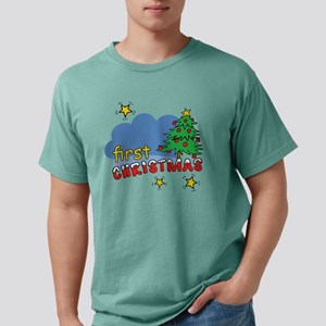 custom first christmas, Mens Comfort Colors Shirt
