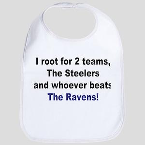 Steelers Football Bib