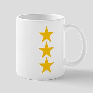 yellow star 3 Mug