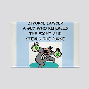 lawyers Rectangle Magnet