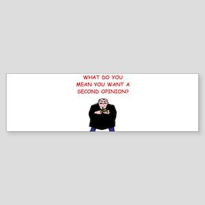judges Sticker (Bumper)