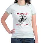Lady MOOSE Jr. Ringer T-Shirt